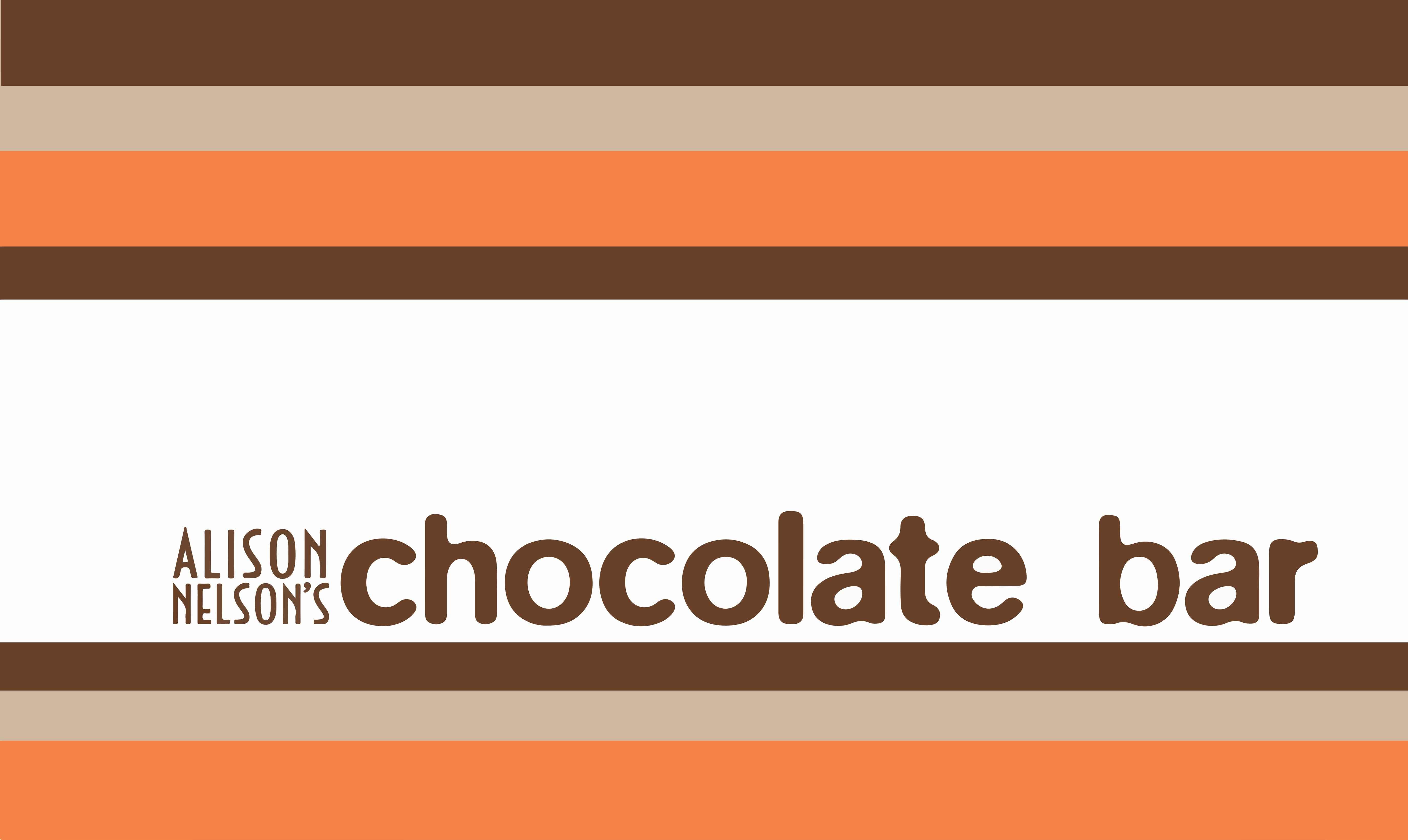 Alison Nelson's Chocolatet Bar